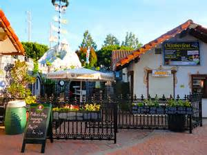 Old World Village Huntington Beach Ping Dachshund Races Beauty Salons Restaurants Beer Garden Coffee House